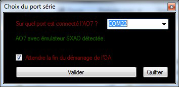 Configurateur AO-7.