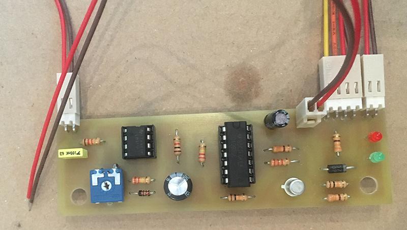 Circuit d'alarme batterie faible